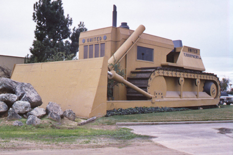 Biggest bulldozer